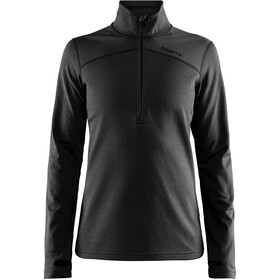 Craft Pin Half Zip Midlayer Dame black